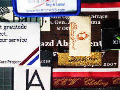 woven Products , woven labels, clothing tags