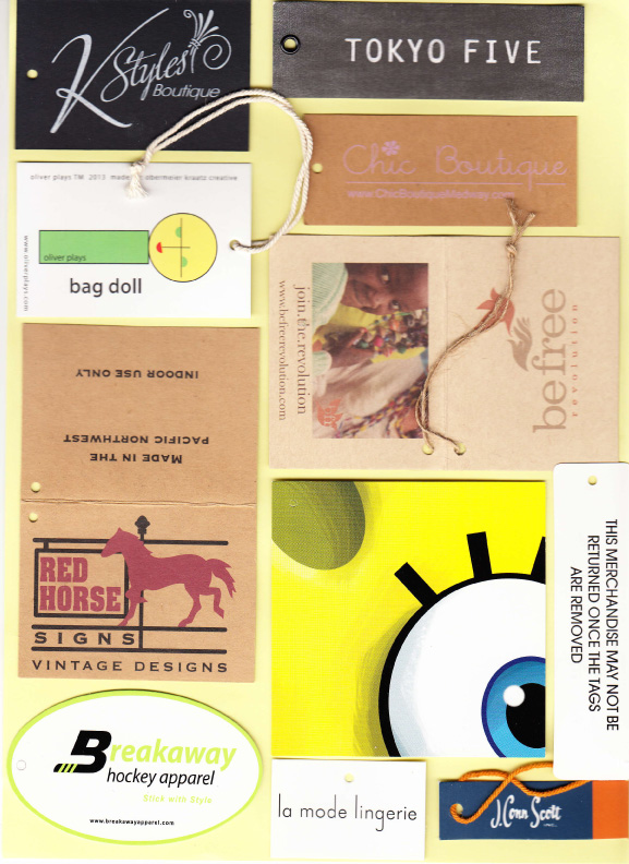 Custom Clothing Tags and Labels - Rapid Tag & Label