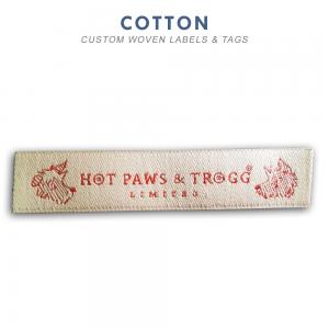 Cotton-Custom Woven Label