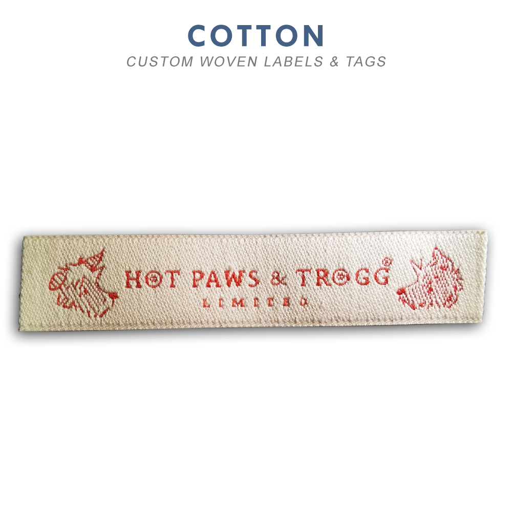 Custom Woven Labels & Tags - Rapid Tag & Label