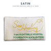 Satin-Custom Woven Label
