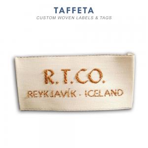 Taffeta-Custom Woven Label