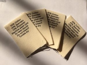 cotton care labels