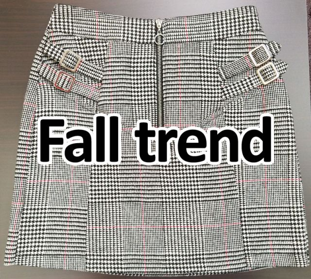 Fall trends - Plaid
