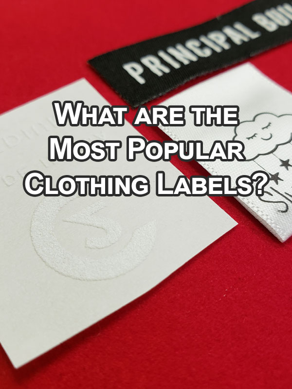 What are the Most Popular Clothing Labels